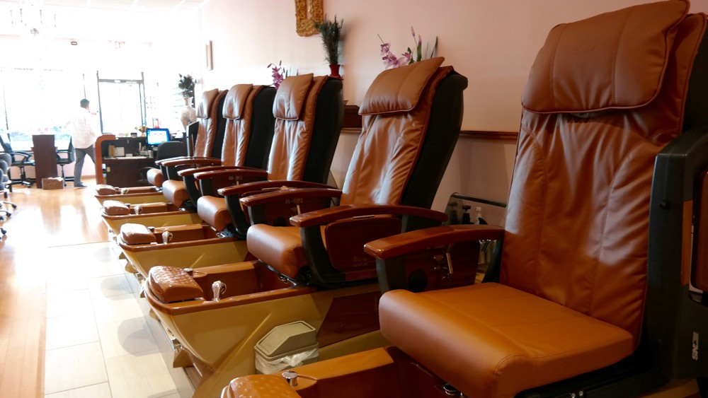 Chase Nails & Spa |  Pedicure Chairs