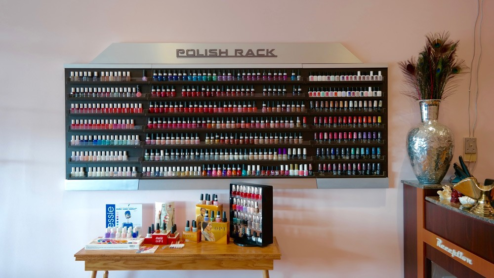 Chase Nails & Spa | Polish Rack